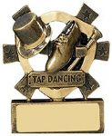 Tap Dancing Mini Shield Award